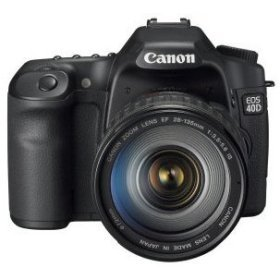 The Canon EOS 40D Digital Camera