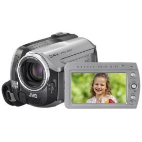 The JVC Everio GZ-MG130 Camcorder